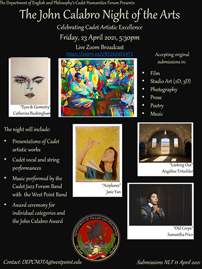 Join The 6th Annual John Calabro Night of the Arts