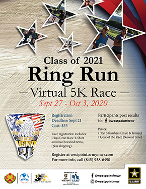 "Join the ""Virtual"" 5K Ring Run Event"