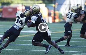 Keeping Up with Football Practice at West Point