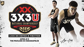 King to Compete in the 2021 Dos Equis 3X3U National Championship