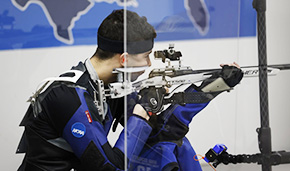 Kutz Earns 4th Place Finish in Smallbore at NCAAs