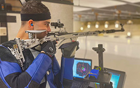 Kutz Qualifies for NCAA Championship in Smallbore