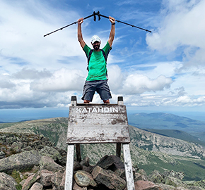 LTC(R) Wise '94 Completes Appalachian Trail