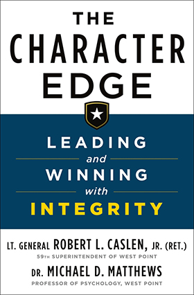 "LTG(R) Caslen '75 Releases ""The Character Edge"""