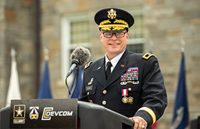 MG George '88 Retires after 33-Year Military Career
