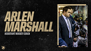 Marshall to Serve as Army Hockey Assistant Coach