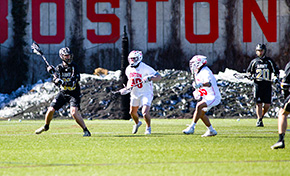 Men's Lacrosse Takes Patriot League Opener from BU