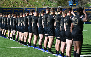Men's Rugby Opens Spring Season Victorious
