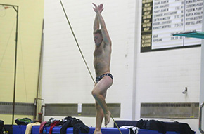 Men's Swim & Dive Tops Terriers in Regular Season Finale