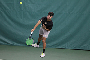Men's Tennis 4-3 Victory Over Monmouth