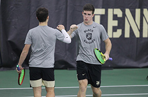 Men's Tennis Closes Out Weekend with 27 Victories Against Air Force