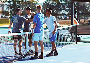 Men's Tennis Completes First Day at The Bedford Cup