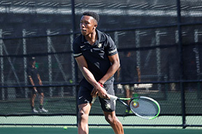 Men's Tennis Concludes Strong First Home Competition