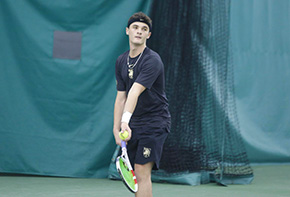 Men's Tennis Posts Strong Outing Against Coast Guard Academy