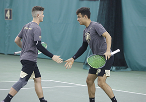 Men's Tennis Secures 3-0 Weekend with Strong Wins