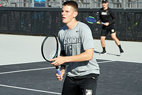 Men's Tennis Sweeps Binghamton, 7-0