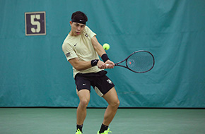 Men's Tennis Sweeps Holy Cross and Lafayette in Double Header