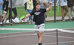 Men's Tennis Tops Lehigh to Advance to Patriot League Title Match