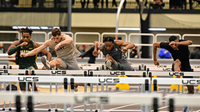 Men's T&F Wrap Up Strong Weekend in Boston