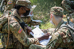 New Cadets CBT Land Navigation Training