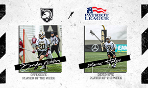 Nichtern 3x Patriot League Offensive Player of the Week; Hudgins Tabs Defensive Award