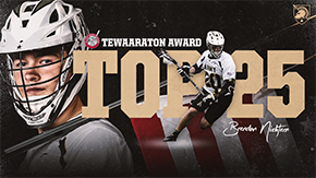 Nichtern Among Top 25 for Tewaaraton Award