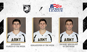 Nichtern, Schupler and Grabher Named Patriot League Players of the Week