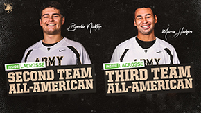 Nichtern, Hudgins Named Inside Lacrosse All-Americans