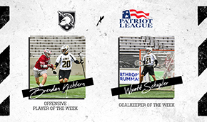 Nichtern and Schupler Named Back-to-Back Patriot League Players of the Week