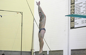 Patriot League Honors CDT Alaimo as Diver of the Week