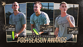 Patriot League Honors a Trio of Black Knights