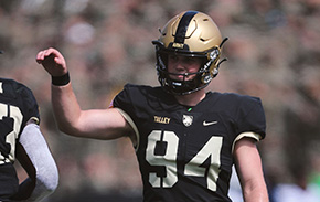 Q&A with Football's Cole Talley