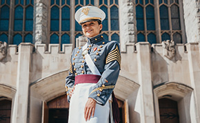 Hudspeth'21 Reflects on Her Time at West Point