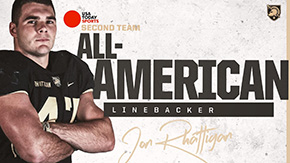 Rhattigan Named Second Team All-American by USA Today