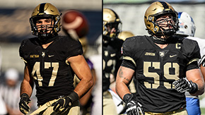 Rhattigan, Johnson Earn PFF All-America Honors
