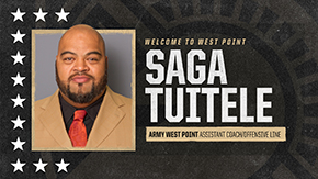 Saga Tuitele Named Army Offensive Line Coach