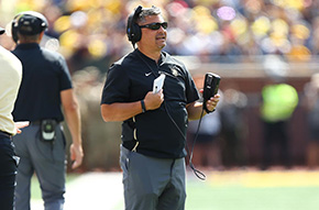 Saturnio Named Finalist for FootballScoop Special Teams Coach of the Year