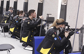 Seven Rifle Team Members Receive First Round Invites to Junior Olympics