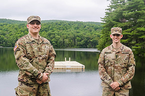 Shekleton '21 & McDonald '21 Take Command of Atypical CFT