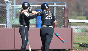 Softball Snaps Terriers 17-Game Win Streak