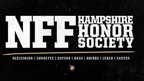 Sprint FB Places Seven on NFF Hampshire Honor Society