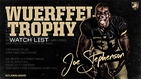 Stephenson Named to the Wuerffel Trophy Watch List