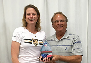 Irons '89 Receives 2019 SDDVA Outreach Award