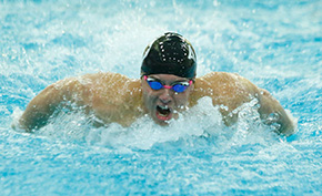 Swimming & Diving Sweeps Home Opener