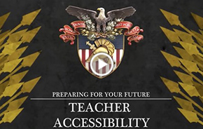 Teacher Accessibility - What Sets West Point Apart