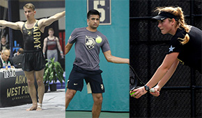 Three Cadets Named CEP Athletes of the Month