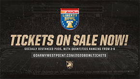 Tickets On Sale Now for 2020 AutoZone Liberty Bowl