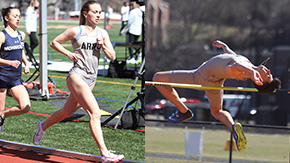 T&F Combines for 19 Event Wins in Dual with Monmouth