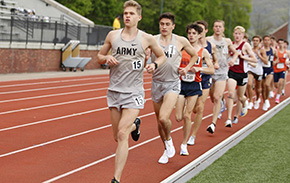 T&F Posts 16 Event Wins in West Point Twilight