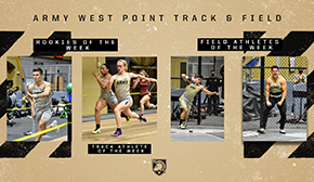 Track and Field Tabs Five Patriot League Weekly Honors